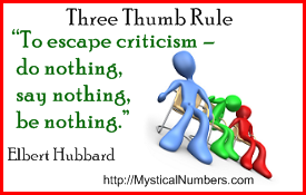 Escape Criticism Quote