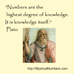 Numbers Quote by Plato