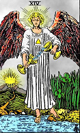 Tarot card 14