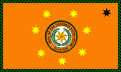 Cherokee national flag