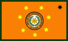 Cherokee national flag