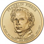 Franklin Pierce Presidential Coin