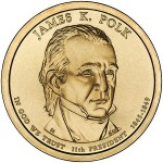 James Polk Presidential Coin