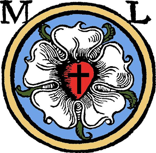 There are five symbols in the Luther Rose. The Luther Rose or Luther ...
