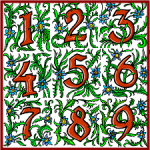 Nine root numbers