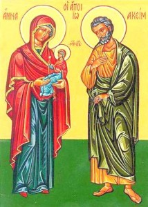 Saint Anne - Mary - Saint Joachim