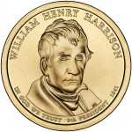 William Henry Harrison Presidential Coin