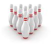 10 bowling pins