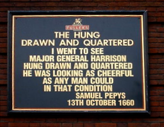 hung, drawn and quartered