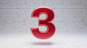 Number 3 Meaning Three