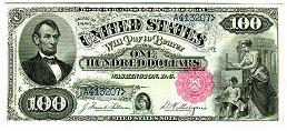$100 Abraham Lincoln