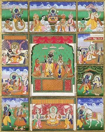 10 Avatars Vishnu