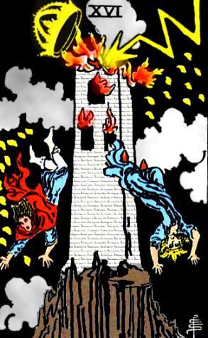 Tarot card 16