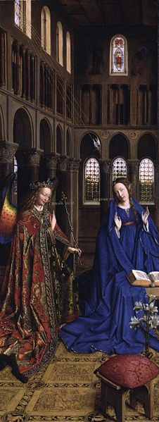 number 7 in Christianity Annunciation