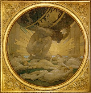 Atlas and the Hesperides 1925