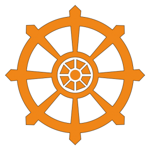 number 8 in Buddhism Dharma wheel