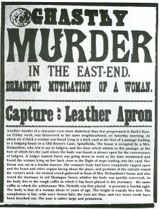 Jack the Ripper Wanted poster
