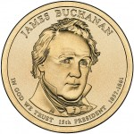 James Buchanan Presidential Coin
