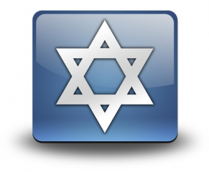 number 6 in Judaism Magen David