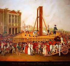 Marie Antoinette's execution 16 October 1793