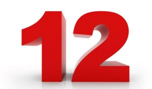 Number 12 Meaning Twelve