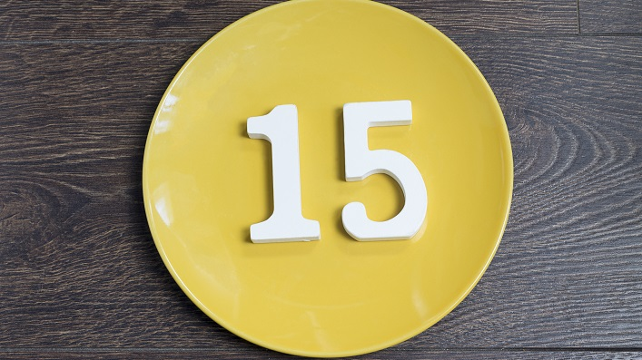 Number 15 Meaning Fifteen
