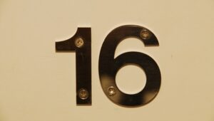Number 16 Meaning Sixteen