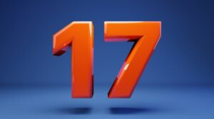 Number 17 Meaning Seventeen