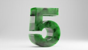 Number 5 Meaning Five
