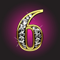 [Image: Number-6-Diamond-on-purple.png]
