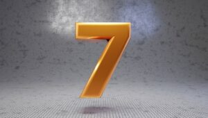 Number 7 Meaning Seven