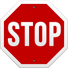 8 sided Stop Sign