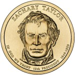 Zachary Taylor Presidential coin