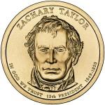 Zachary Taylor Presidential coin