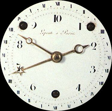 French Revolution Clock