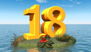 Number 18 Meaning Eighteen