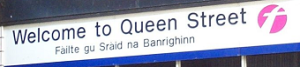 Scottish Gaelic Sign in Glasgow